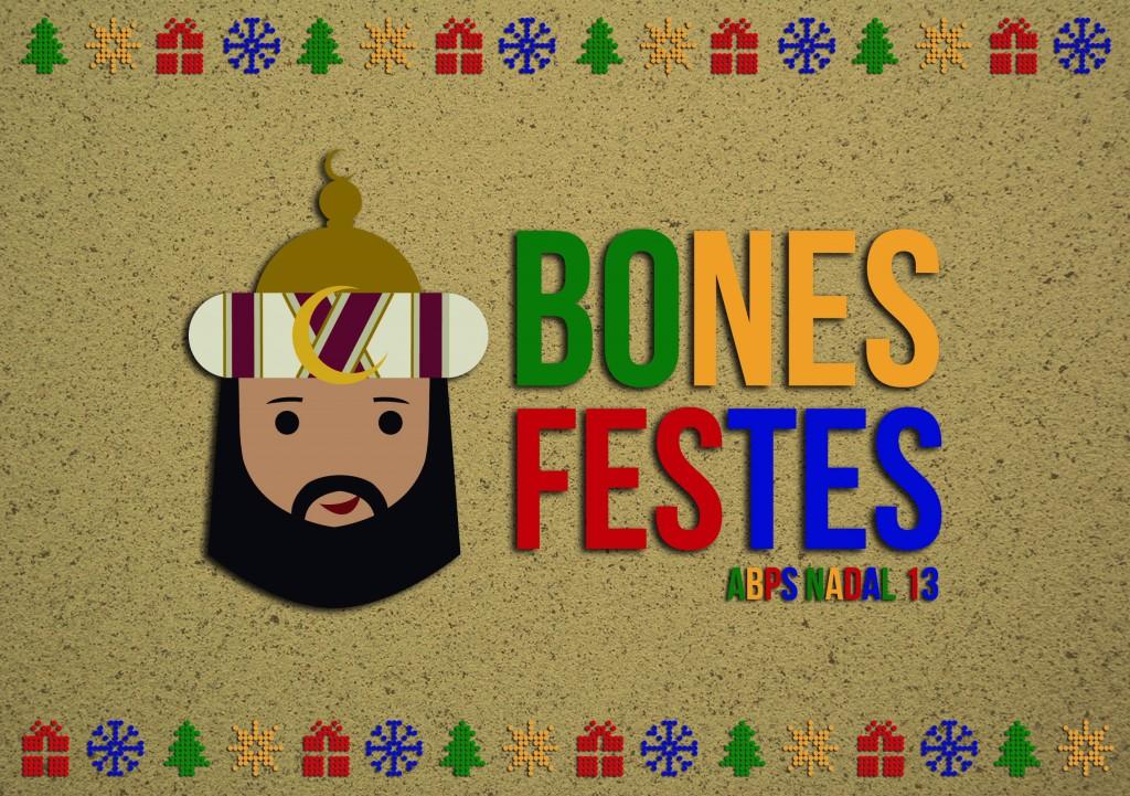 Postal de Nadal ABPS
