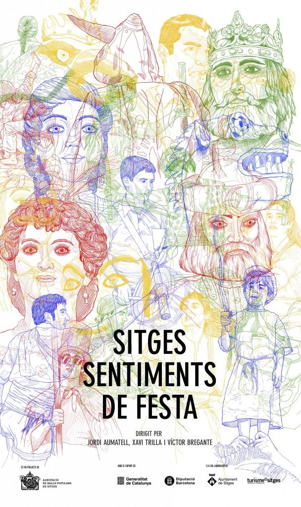 Cartell documental 'SITGES, SENTIMENTS DE FESTA'
