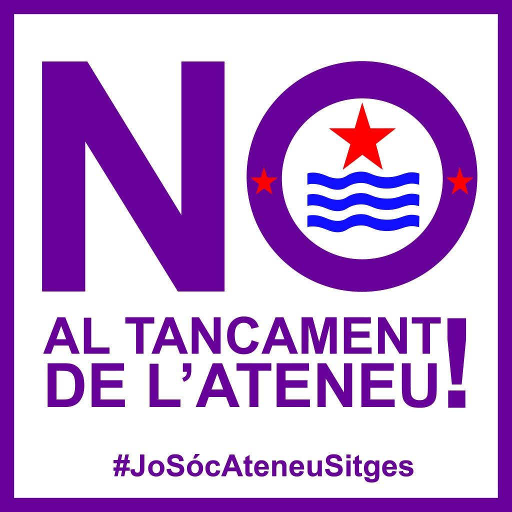 No al tancament de l'Ateneu