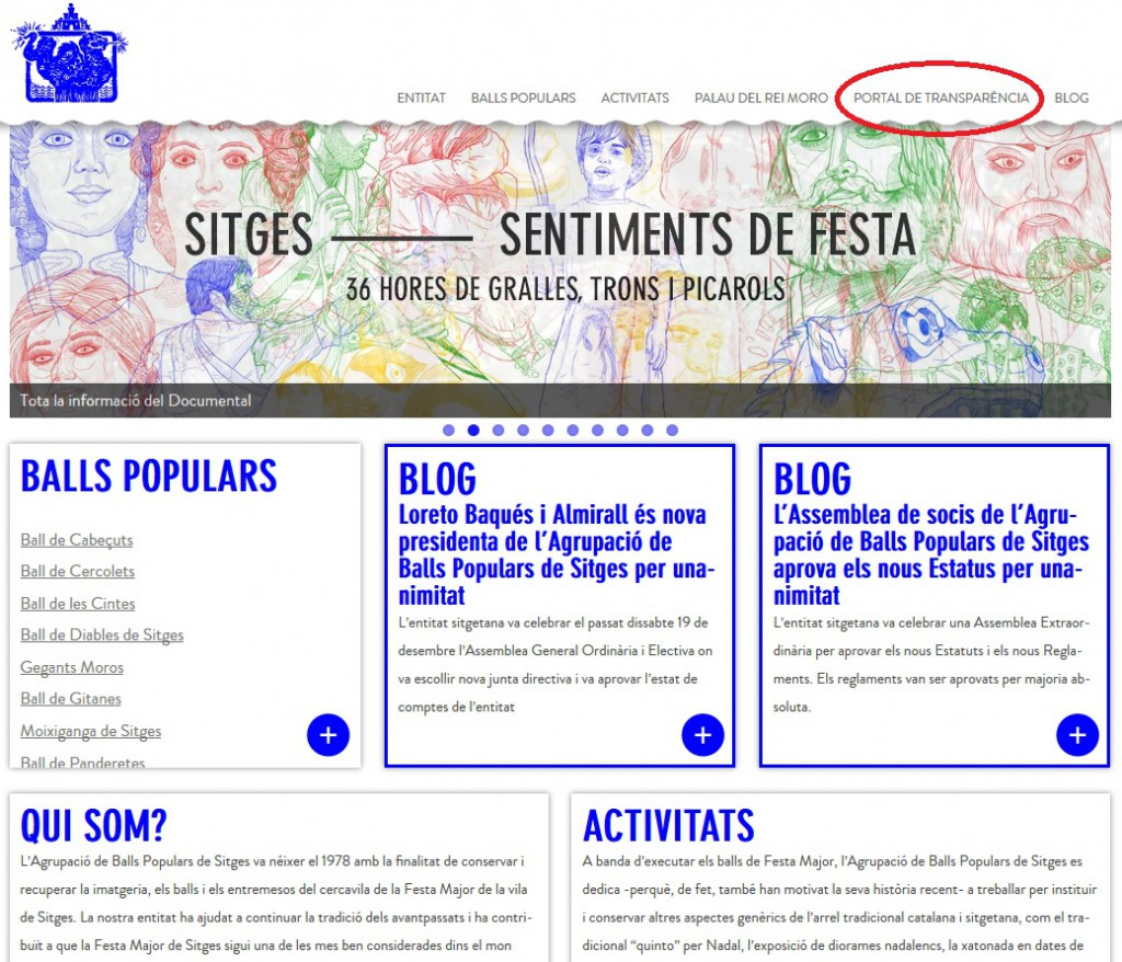 Web AgrupaSitges